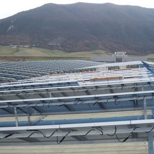 Instalación de energía solar fotovoltaica de Alba Renova